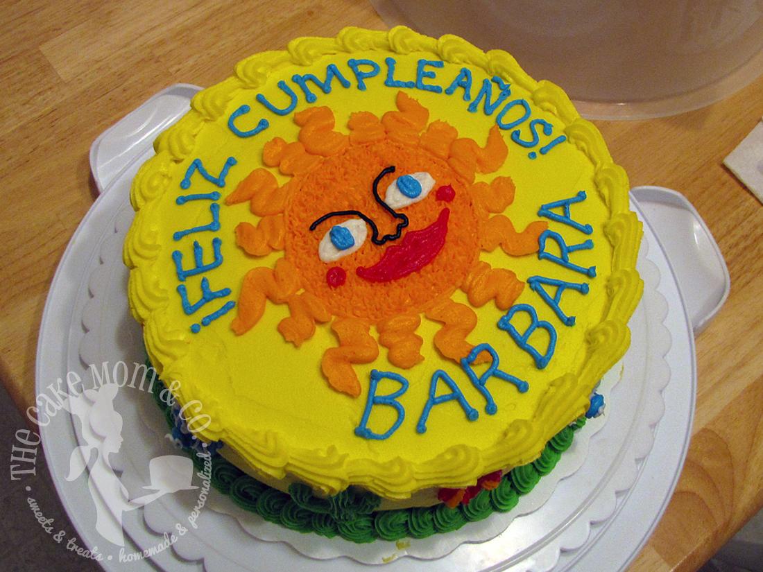 Cinco de Mayo Birthday Cake