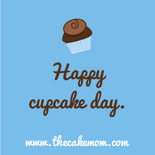 Celebrating Cupcake Day!