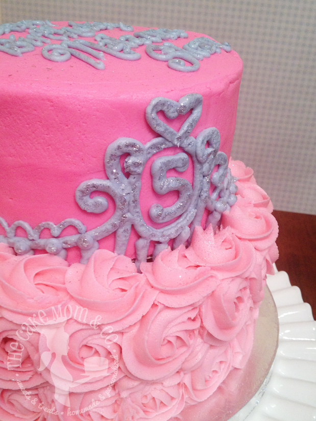 Buttercream Princess Cake
