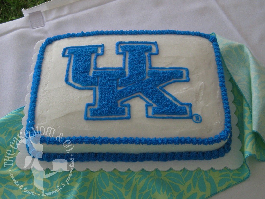 University of Kentucky Wildcats Groom's Cake