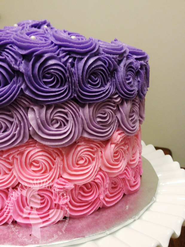 Ombre Rosettes