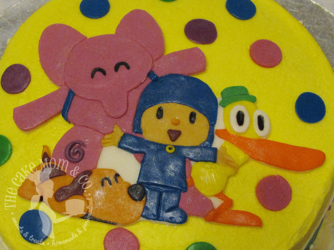 Pocoyo and Friends Birthday Cake