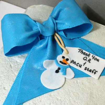 Simple Thank You Cake