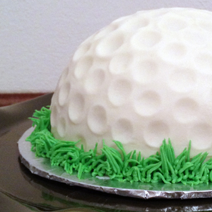 Golf Ball Smash Cake Thumbnail