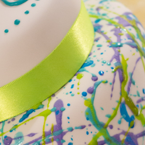Cool Splatter Cake Thumb
