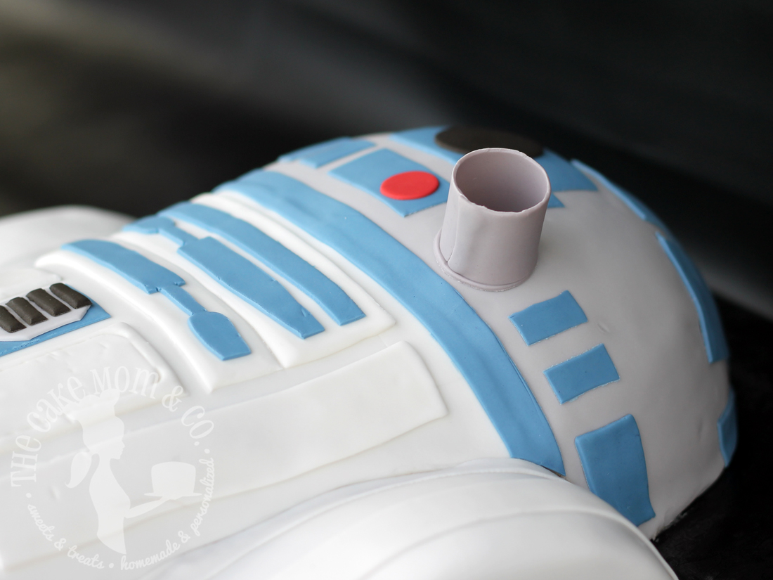 The Force Awakens, in Cake