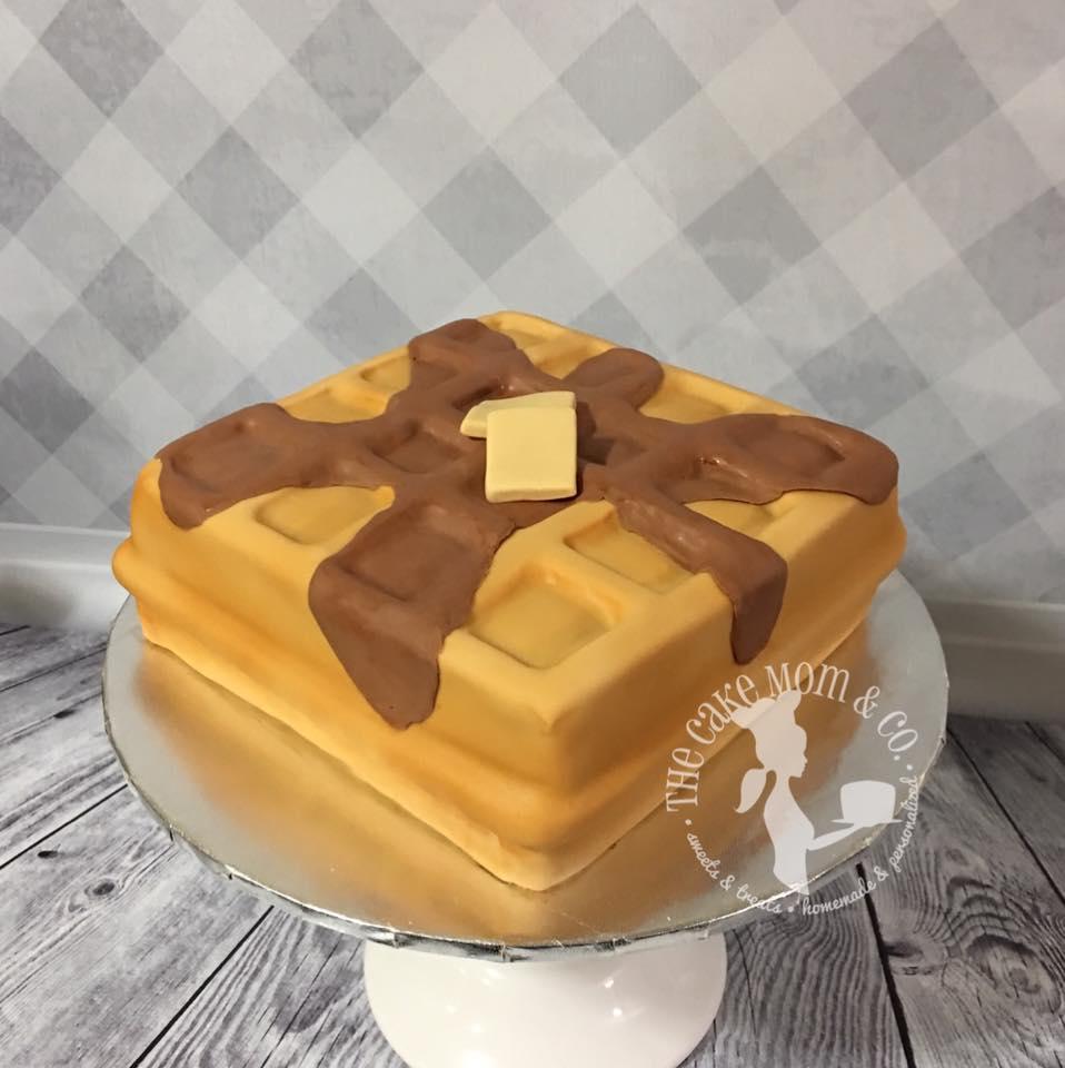 A Waffle Cake Tutorial