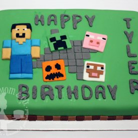 Minecraft Sheetcake