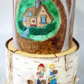 German Fairytale Cake