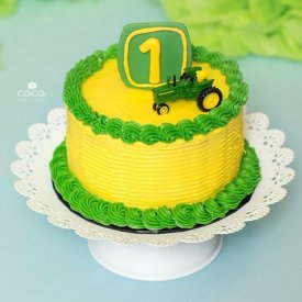 Little Deere One Smash Cake