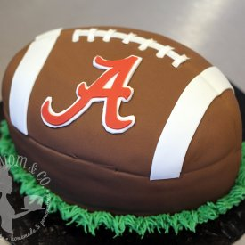 Alabama Football 3D Cake