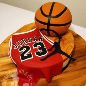 Air Jordan Basketball Cake
